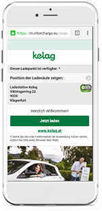 Autostrom-Ladeapp Screen 2