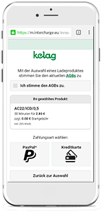 Autostrom-Ladeapp Screen 4