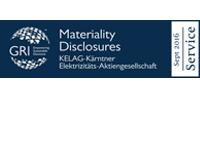 GRI Materiality Disclosure Organizational Mark